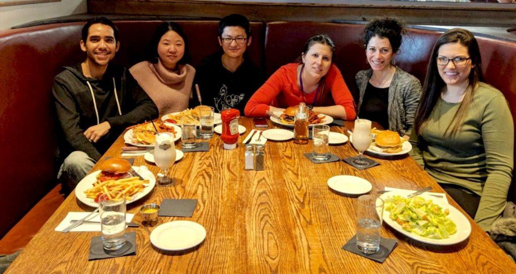 2019 Carla paper celebration lunch