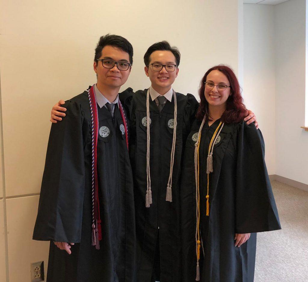 Sam, Tien, and Oscar
